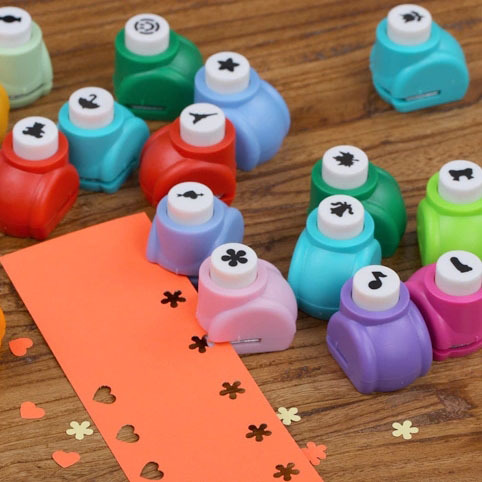 Paper Punch Kid Child Mini Printing Hand Shaper Scrapbook Tags Cards Craft DIY Cutter Tool(China (Mainland))