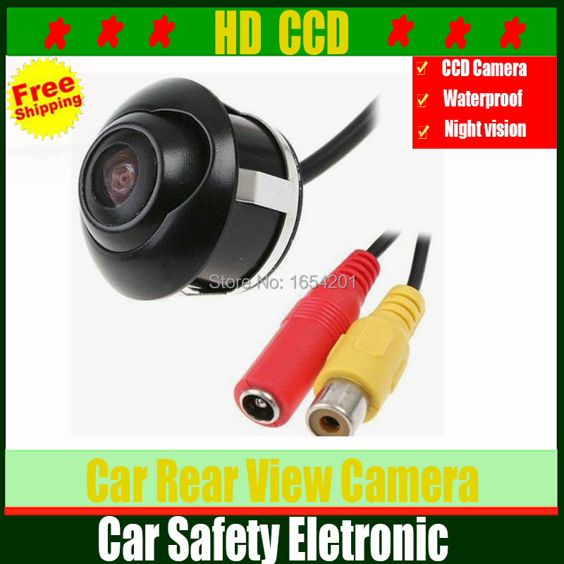 Factory price CCD HD night vision 360 degree car rear view camera front camera front view side reversing backup camera kit(China (Mainland))