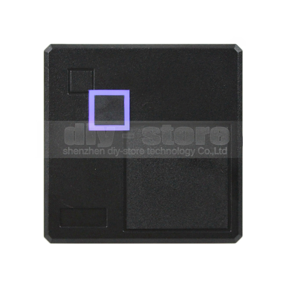 Waterproof Security Door Access Control Wiegand 26 125KHz RFID ID Card Reader EM4100 102A(China (Mainland))