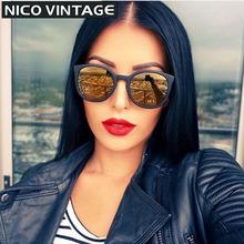 Espelhado Gradiente Clássico Óculos De Sol Das Mulheres Marca oculos de sol Feminino Moda TR90 Óculos de Sol Femininos Polarizados Tons Preto