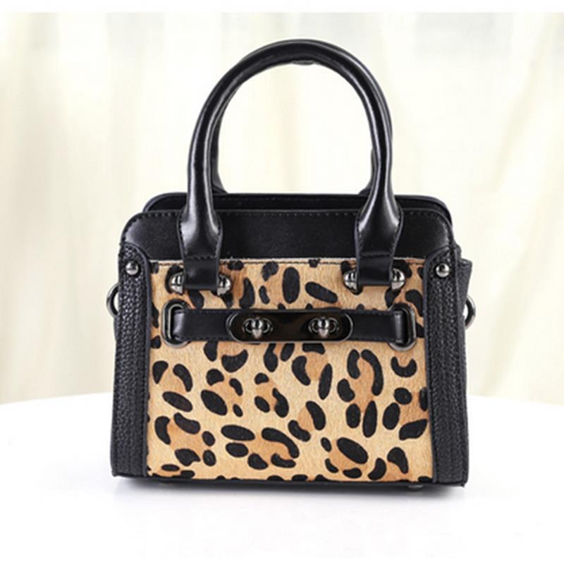 2016 new fashion Pu manufacturers selling fashion handbags handbags Korean horsehair leopard package Boston Bag<br><br>Aliexpress