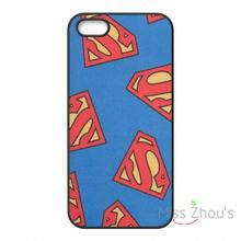 For iphone 4/4s 5/5s 5c SE 6/6s plus ipod touch 4/5/6 back skins mobile cellphone cases cover Superman logo