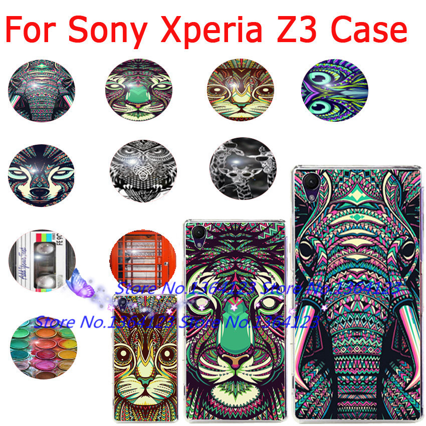 Чехол для для мобильных телефонов OEM 10 Sony Xperia Z3 Sony Z3 For Sony Xperia Z3 purple fashionable leopard leather skin hard cover for iphone 5c