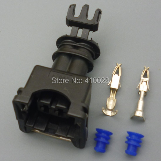 5sets 3.5mm throttle plug EV1 Female Fuel Injector Connector free shipping(China (Mainland))