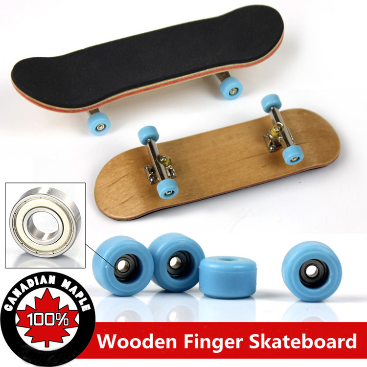 2015 Professional Maple Wood Finger Skateboard Alloy Stents Bearing Wheel Fingerboard Adult Novelty Items Children Toy,FS001(China (Mainland))