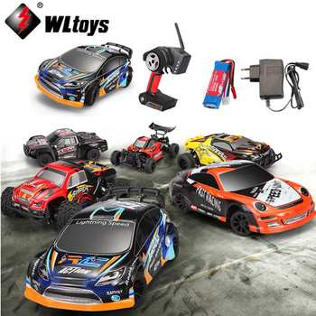 1 set Wltoys 1:24 RC CAR A202 A212 A222 A232 A242 A252 2.4G 4WD remote control mosquito drift rally CAR toy gifts