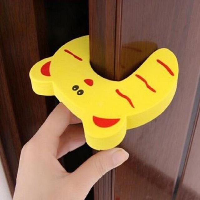 Симпатичные 4 Шт. Малыш Finger Protector Дверь Пробка Полезная Pдюйм Guard Безопасности ...