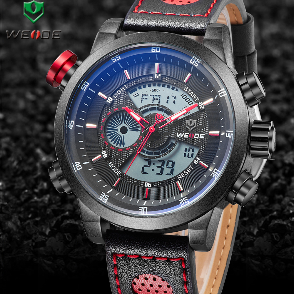 Weide wristwatch LED relogio