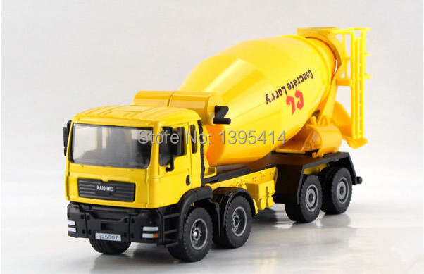 Free shipping KAIDIWEI 1:50 Cement mixers Alloy model toys(China (Mainland))