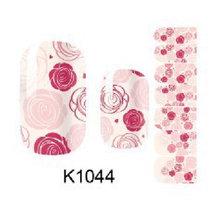 popular newest hollow design nail sticker, nail art decoration, plastic nail art