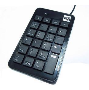 R8 1810 chocolate digital keyboard circumscribing small usb numeric keypad laptop keyboard(China (Mainland))