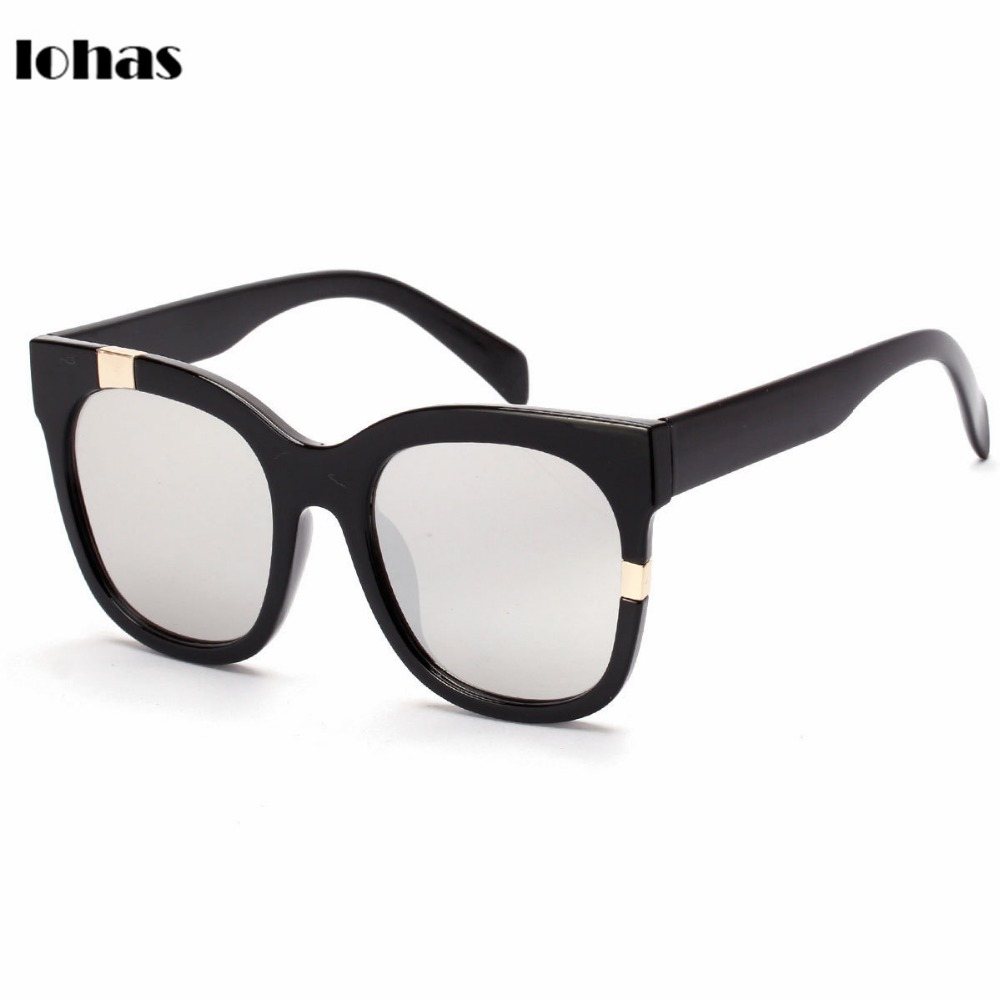 Latest Eyewear Styles Vintage Classic Retro Oversized Sunglasses Traditional Black Frames Supreme Quality Perfectly Casual Look(China (Mainland))