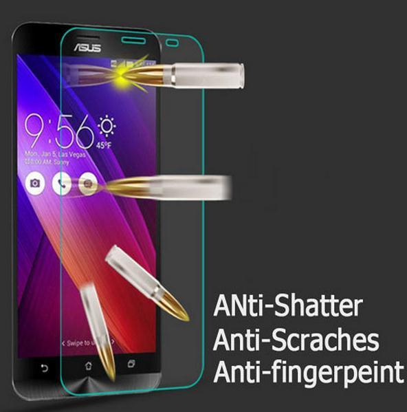 0.26 мм закаленное стекло экрана протектор для Asus Zenfone 5 2 ZE550ML ZE551ML Zenfone 2 лазерная ZE550KL ZE551KL ZE500KL Selfie 6 / 4 / C