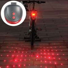 Buy New Bicycle LED Tail Light Safety Warning Light Night Mountain Bike Rear Light Taillight Lamp Bycicle Light 5 LED 3 Mode for $2.97 in AliExpress store