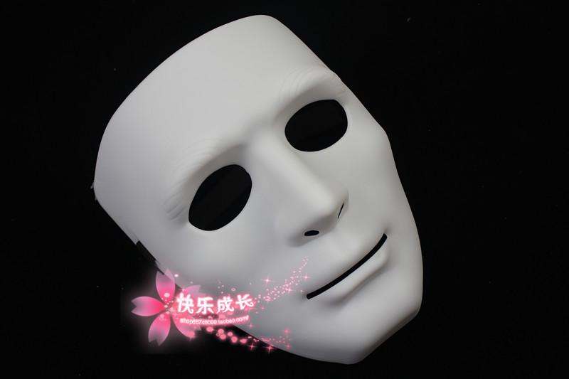 White mask jabbawockeez mask hip-hop mask gloves(China (Mainland))