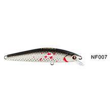 NOEBY 6.5 cm 4.6g słodkowodne Minnow przynęty Wobbler twarde przynęty sztuczne Swimbaits połowów szczupaków Walleye pstrąg NBL9136(China)