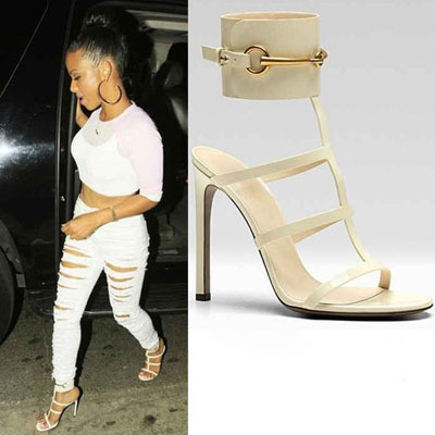 Luxury Brand Women Sandals 2015 Ankle Wrap Patent Leather Sandals Ursula Colors Open Toe High Heels Sandals Women Strappy Scarpe(China (Mainland))