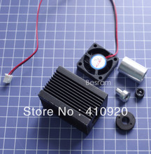 Focusable Housing Case Heatsink for 5.6mm TO18 Laser Diode LD Module Lens Fan(China (Mainland))