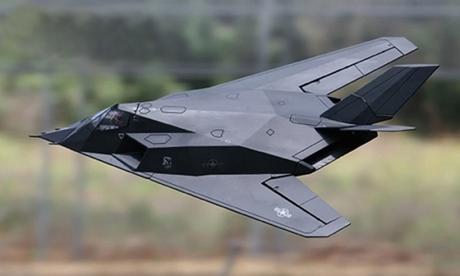 F117 1.2M 70MM EDF Jet Airplane RC Model KIT Version With Body Only(China (Mainland))