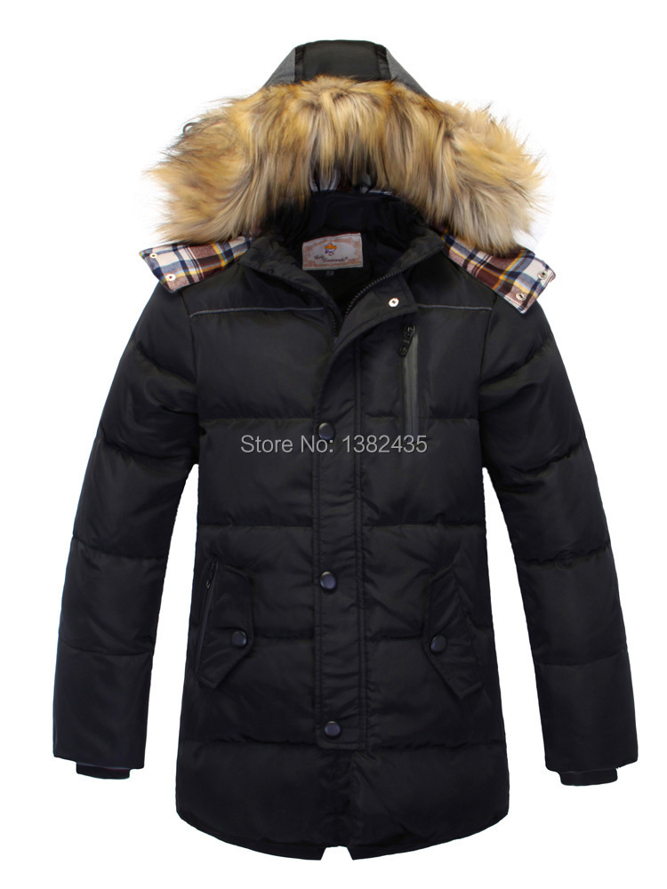 children's jackets fashion 2015 new winter boys thick hooded parkas warm boys winter down jacket coat child winter outerwear(China (Mainland))