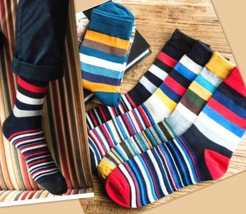 colorful mens socks striped brand couple Cotton socks chaussette homme calcetines hombre sport basketball socks men 5pairs/lot(China (Mainland))
