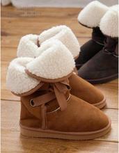 Zapatos de mujer de nieve botas de ante de invierno botines mujer femininas 2014 coturnos femme botas de neve raquetas sapatos femininos zapato(China (Mainland))