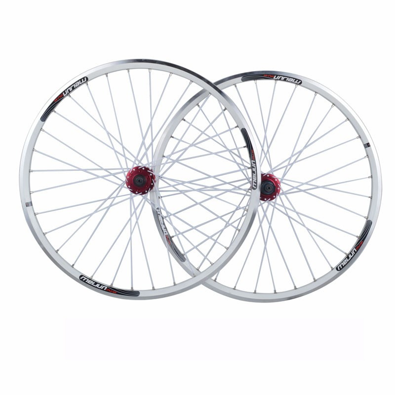 Buy 26'' inch 32 Holes  Mountain Bikes Road Bicycles V brake Disc Brake Dual purpose Wheel Hubs Aluminum Rim knife circle Wheelset cheap