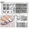 24 Sheets/Set French Manicure DIY Nail Art Tips Guides Stickers Stencil Strip Chevron Zig Zag Straight Line Different Design