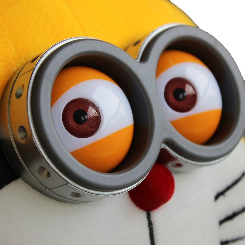 Grosshandel Neue Ankunfts 40cm Despicable Me Doraemon Minions 3d Eyes
