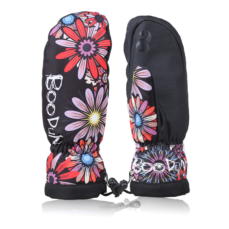 snowboard gloves for men and women waterproof warm ski Professional best ski gloves mittens snowboard for sale discount(China (Mainland))