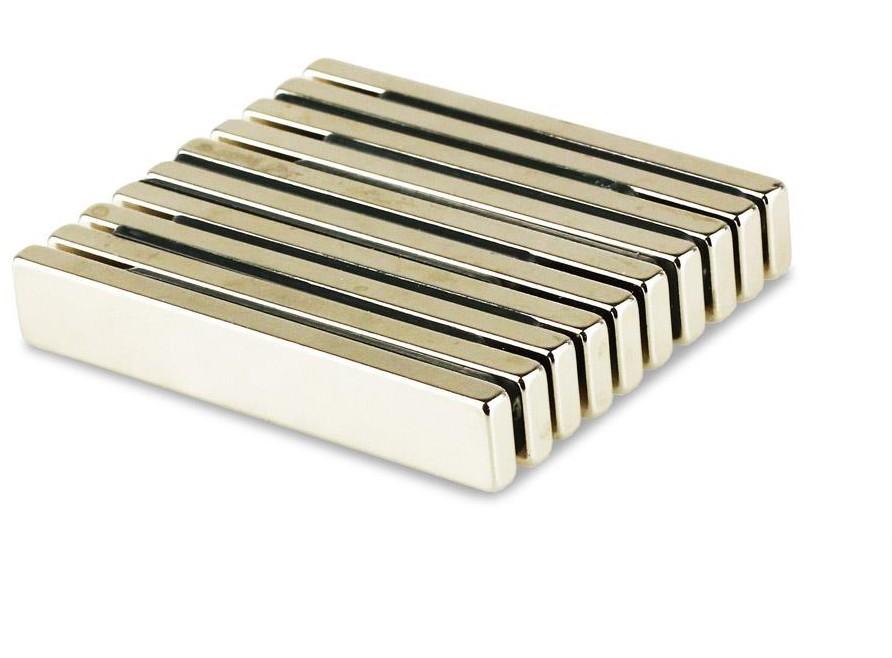 40pcs Big Super Strong NdFeB Magnet Block Bar Magnets 60*10*4mm Rare Earth Neodymium<br><br>Aliexpress