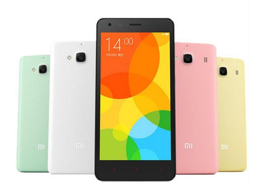 "New Original XiaoMI Red Rice 2 cell phone Qualcomm Quad Core 4.7"" 1280x720P 2GB RAM 16GB ROM 8MP Red Rice 2 Mobile Phone(China (Mainland))"