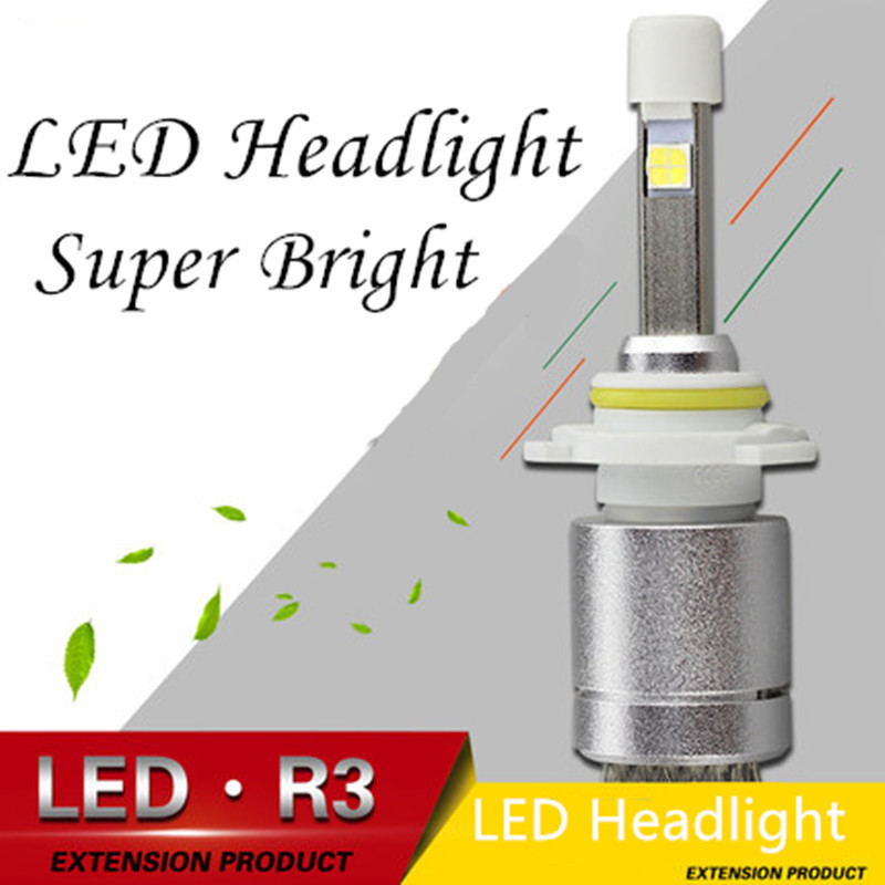 Best Price!!! 2x H3 Genuine CREE COB LED 80W 9600 LM/Set White Car DRL Daytime Running Driving Fog Headlight Xenon Ultra Bright<br><br>Aliexpress