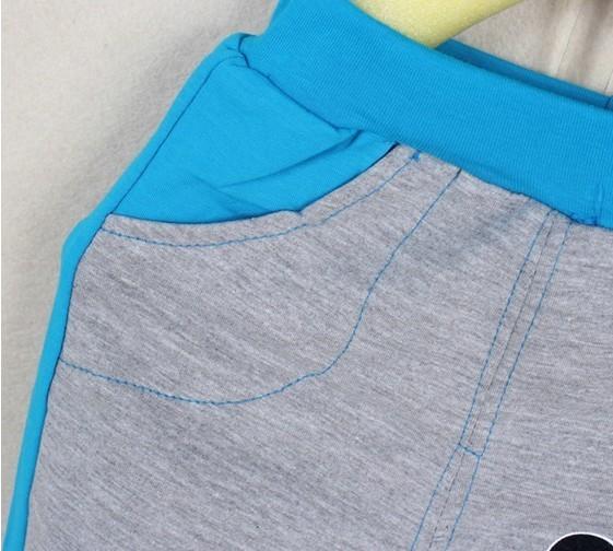2015, повседневная одежда для мальчиков, для весны и осени, детская одежда для мальчиков, хлопковая одежда, костюм, набор, длинный рукав+штаны, с мультяшным изображением, одежда для детей, для мальчиков