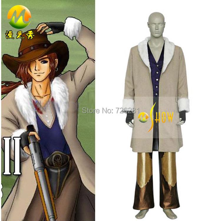 Final Fantasy VIII 8 Irvine Kinneas Cosplay Costumes