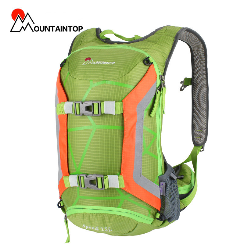 New Unisex Waterproof Cycling Backpack increasing Water Pipe Clamp System and Helmet Suspension Design Fashion Cycling