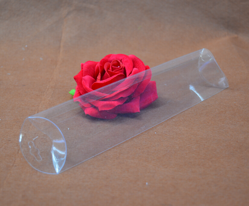 6.5*3*20.8cm clear Transparent PVC boxes wholesale,wedding candy plastic Pillow boxes(China (Mainland))