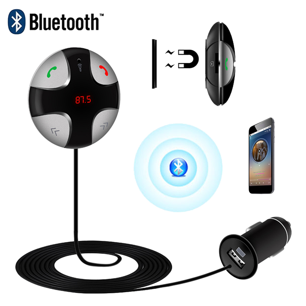 Bluetooth FM Transmitter Audio Music Box Wireless Stereo Car Use Bluetooth 3.0 Transmission TF Card Slot for Car Audio System(China (Mainland))