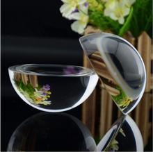 4 см 5 см Кристалл Стеклянный Шар Пресс-Папье Половины Кварц Сфера Фэншуй Украшения Домашнего Украшения Фигурки Сувенирные Подарки(China (Mainland))