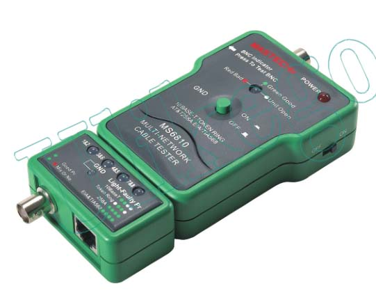 Multi Cable Tester : Mastech ms network cable tester multi detector