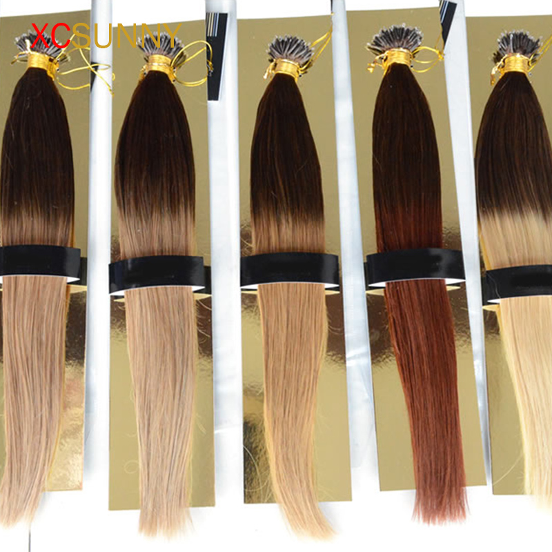 Nano Tip Hair Extensions Micro Rings Remy Indian Hair