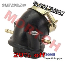 GY6 125cc 150cc Intake manifold for Scooter Moped ATV (Free Shipping)