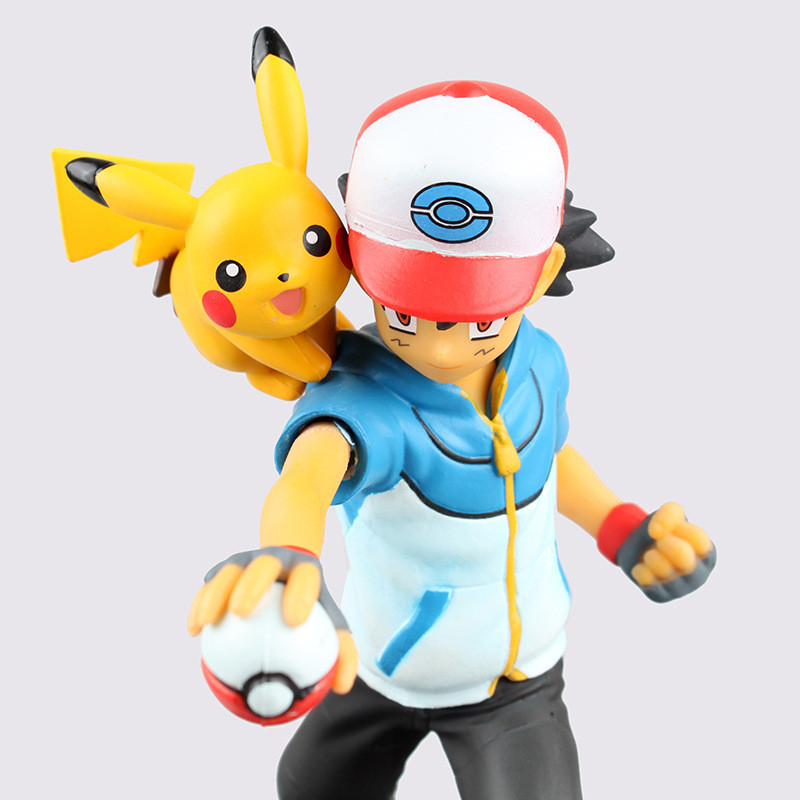 Action Figure Ash Ketchun 4