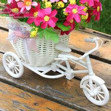 Kolo s košíkem jako svatební dekorace na květiny ve třech barvách z Aliexpress
