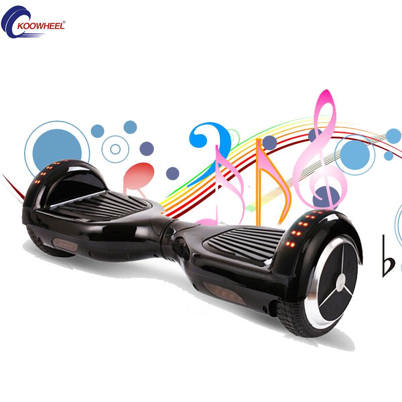 """EE.UU. Stock!! Koowheel Bluetooth 6.5 """"Hoverboard 2 Ruedas Eléctrica de Pie Scooters Patinetas Oxboard 36 V 4.4 H Samsung/LG Batería(China (Mainland))"""