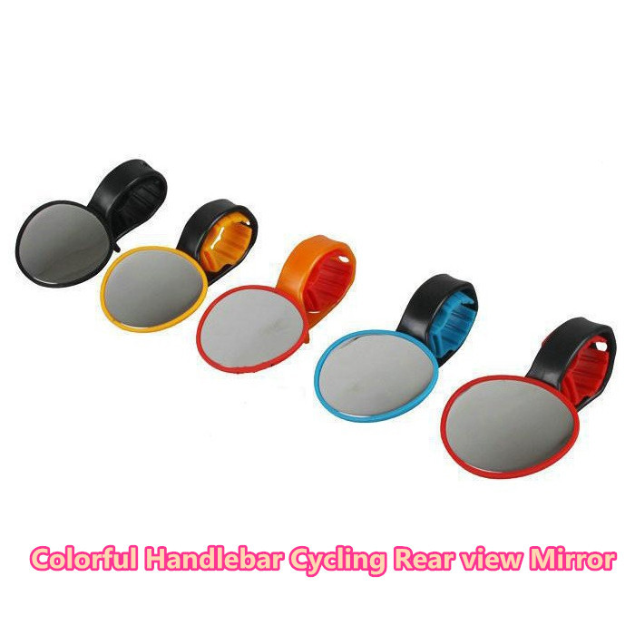 1 piece Electric bicycle Mountain bike rear view mirror unbreakable reflector handlebar side mirror to sport bicycles bikes(China (Mainland))