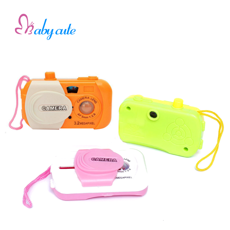 Baby Toy Camera Intelligent Simulation Digital Camera Plastic Classic Jouet Study Educational Toys Film Animal Birthday Gift(China (Mainland))