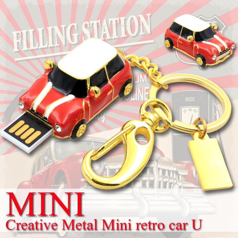 usb flash drive Mini Cooper car pen drive 32gb 16gb pendrive usb stick Real usb 2.0 memory stick Flash Card Free Shipping(China (Mainland))