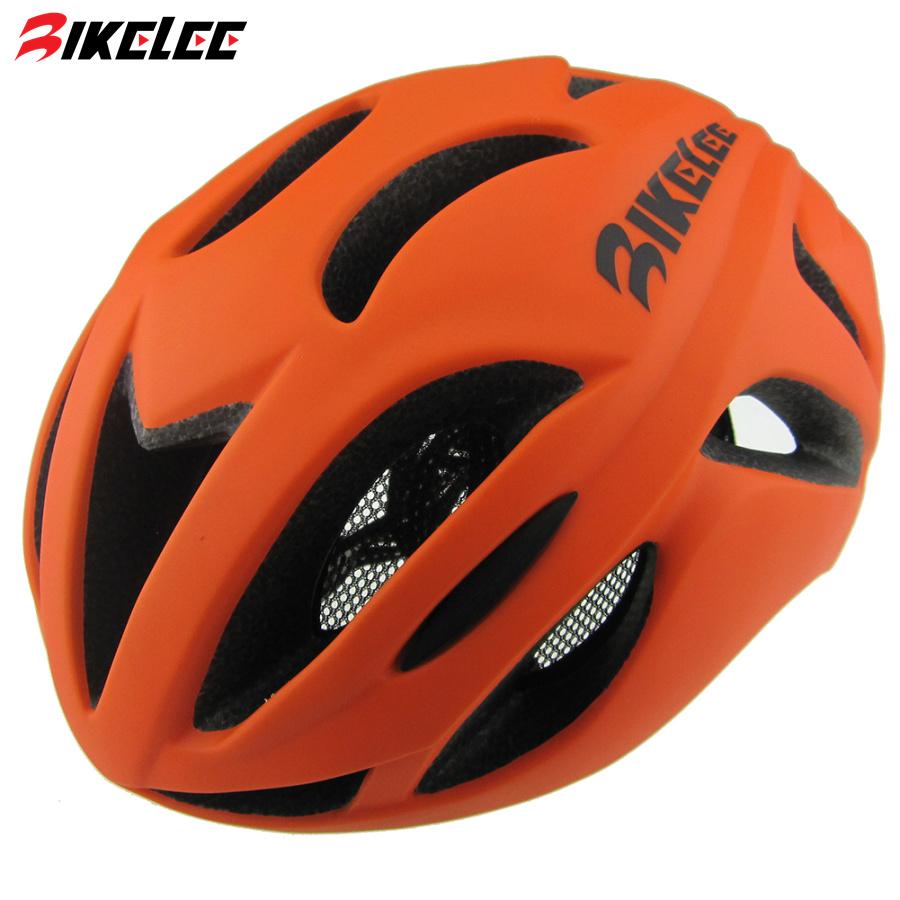 Mens Road Bike Helmets 2017 Matte Cycling Helmets Ultralight Integrally-molded EPS MTB Casco Ciclismo Orange Bicycle Helmet(China (Mainland))