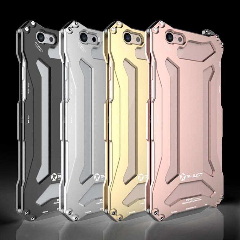 For Iphone R-JUST GUNDAM Metal Case Capa For iphone 6S 6/ 5 5S 5C SE/ 6 6S Plus Luxury Anodizing Aluminium Cover +1pcs Free Film(China (Mainland))
